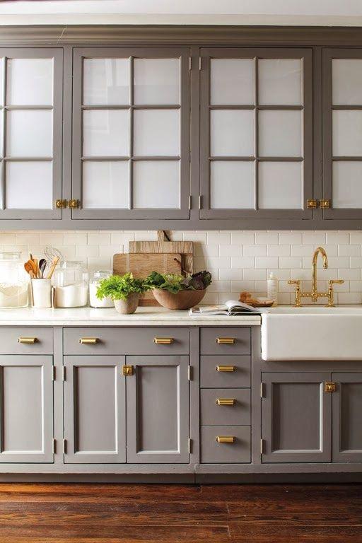 66 Gray Kitchen Design Ideas   Cocinas, Muebles para casa y Cocinas ...