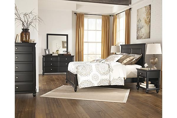 The owingsville panel bedroom set from ashley furniture - Ashley furniture black bedroom set ...