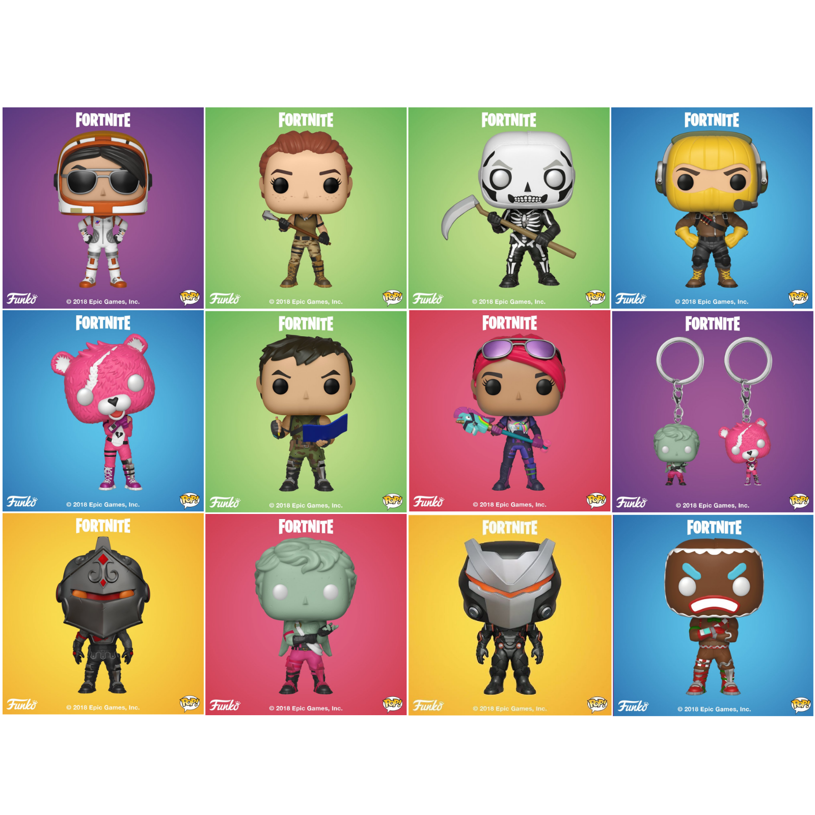 Pre Order Funko Pop Games Fortnite Wave 1 Set Of 11 Vinyl
