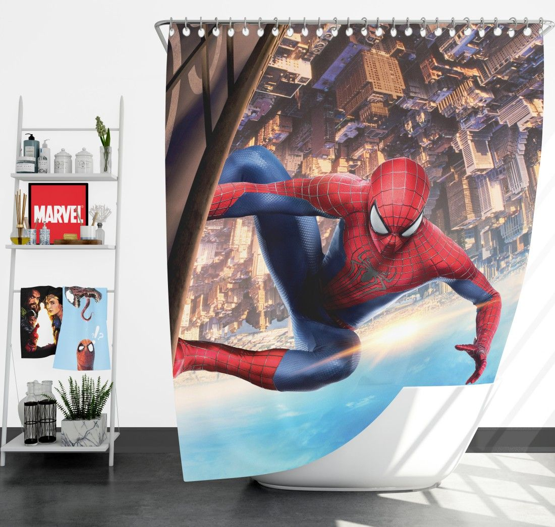 Amazing Fantasy Marvel Avengers Shower Curtain Superhero Bedding Marvel Avengers Marvel