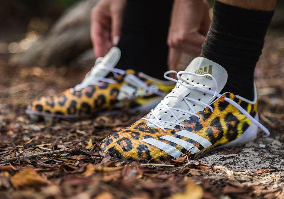 adidas Uncaged Cheetah Cleats