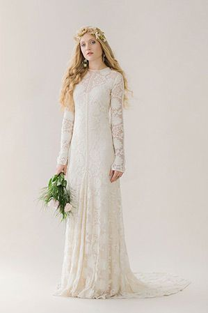 21 Effortlessly Beautiful Boho Wedding Dresses