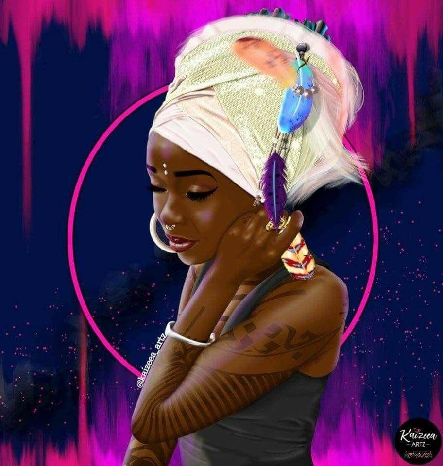 Pin by NRG on Hairit(age) Black women art