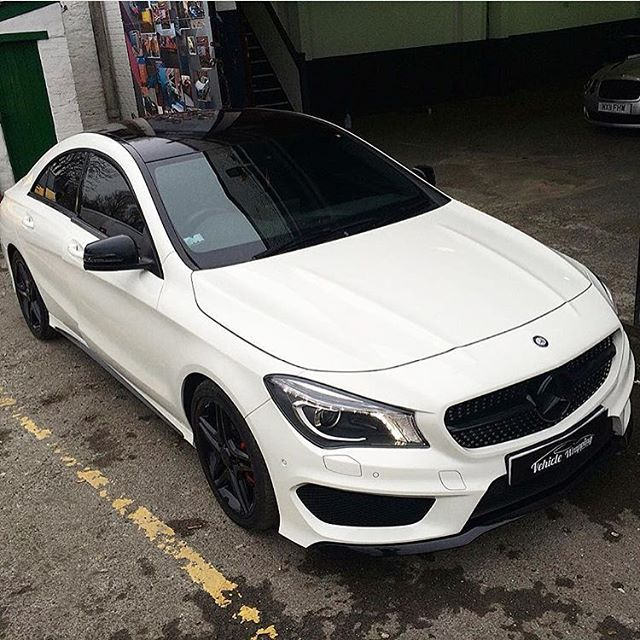 Black Accents On Mercedes Benz Cla250 With Images Mercedes