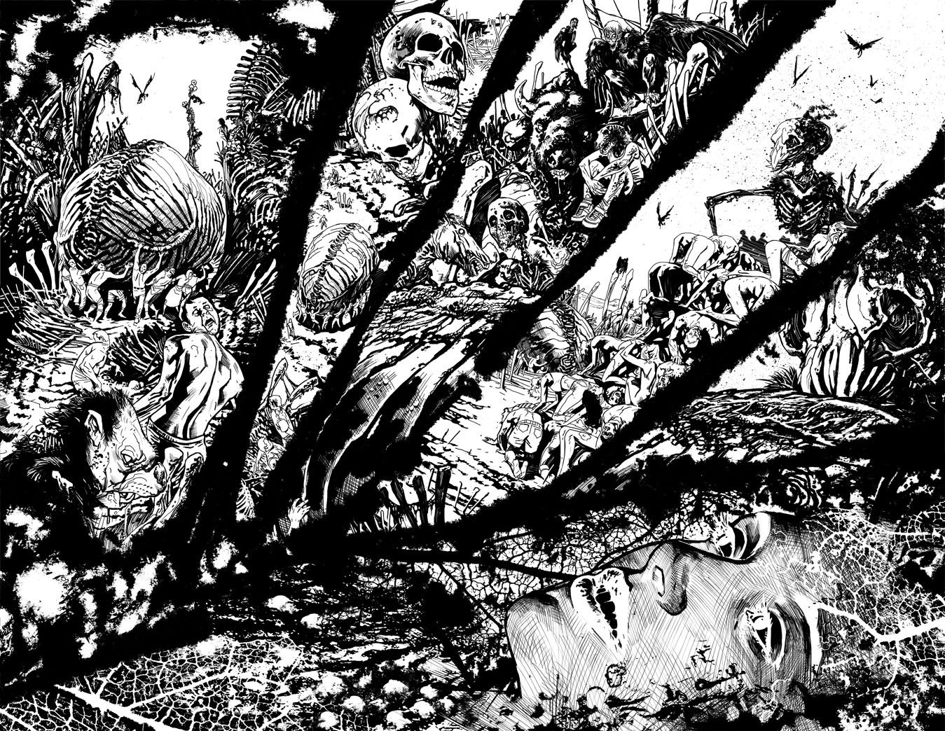Swamp Things 7, Page 7-8 by Yanick Paquette