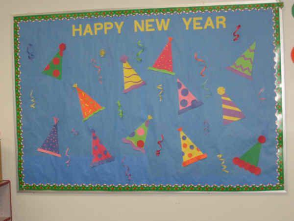 Happy New Year Bulletin Board Ideas 6