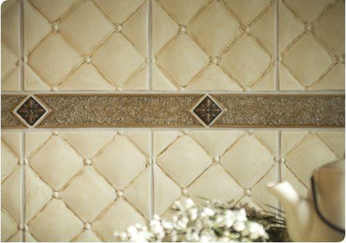 Sonoma Tile Makers  Trapunto In Java, Escape In Adobe, Kirstie In Heritage  Copper