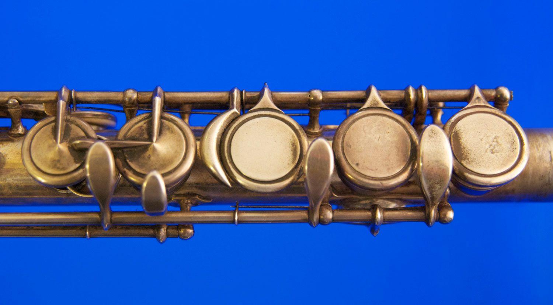 """Equisonant"" flute keywork (Clinton ca 1862)"