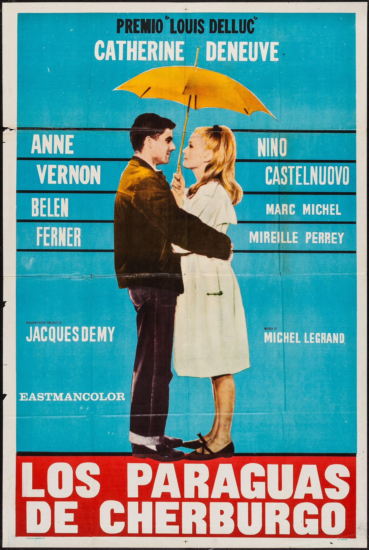 Resultado de imagen de los paraguas de cherburgo cartel | Catherine  deneuve, Paraguas, Películas que ver