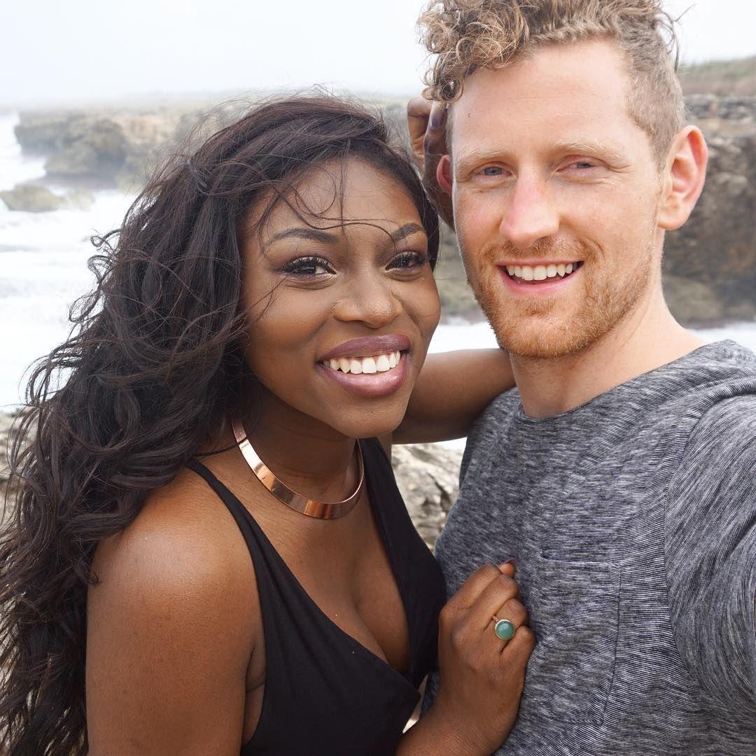 Interracial facial of wife