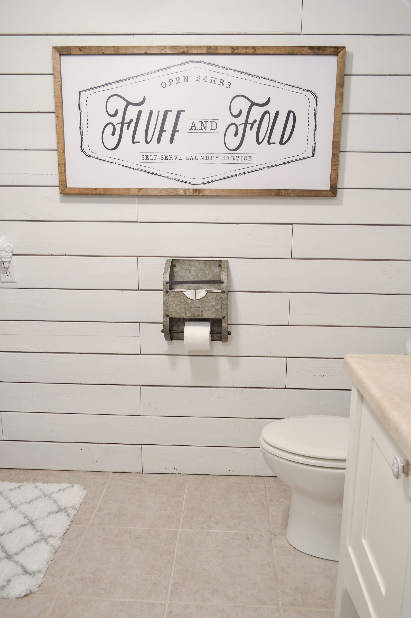 Small Space Combination Laundry Room Powder Bathroom