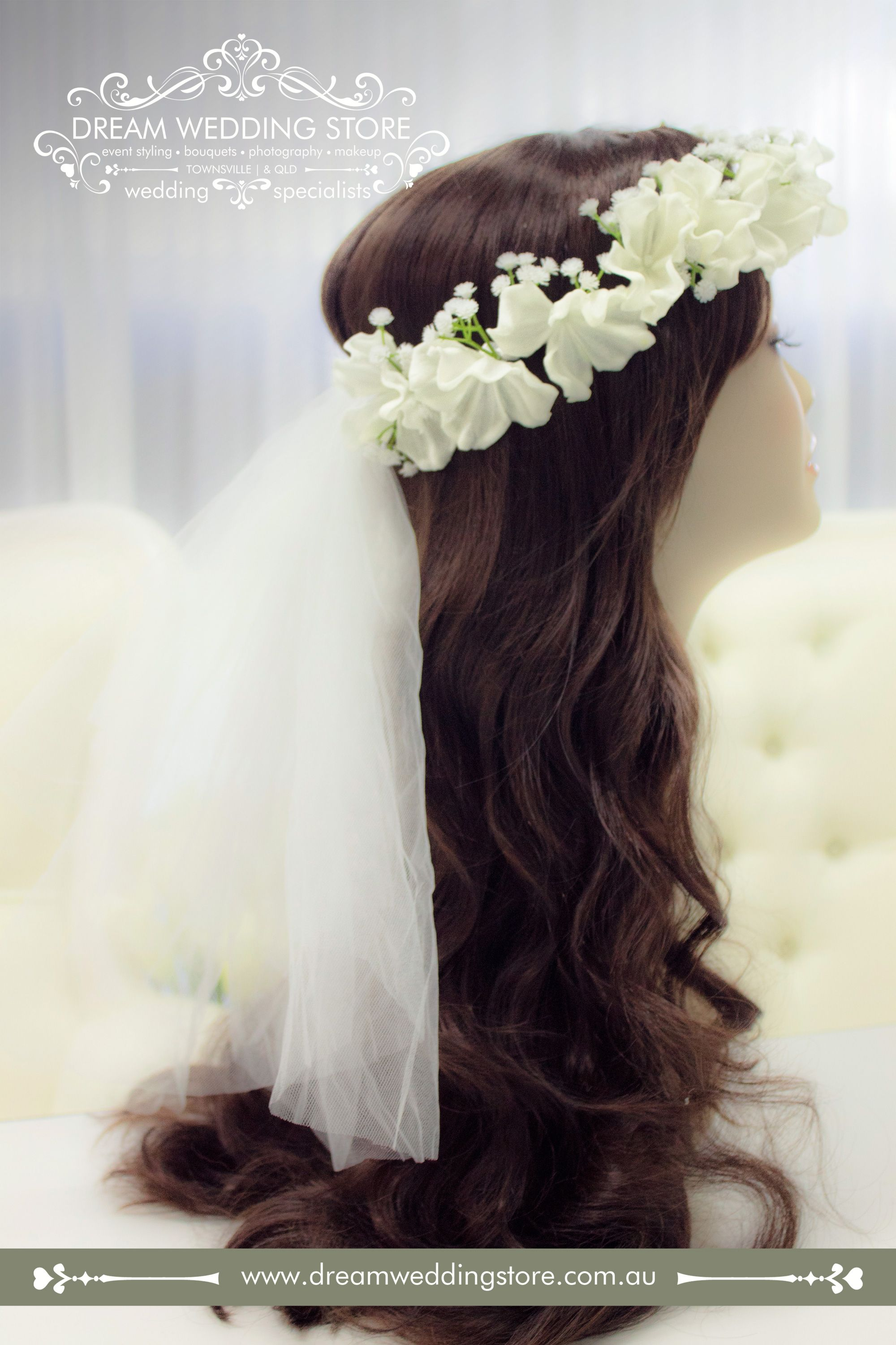 17 best images about hair pieces & sashes - hand made in