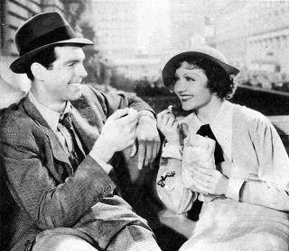 Fred MacMurray & Claudette Colbert