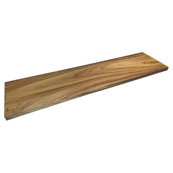 Best Natural Acacia Stair Tread 42 Varnish Stair Treads 400 x 300