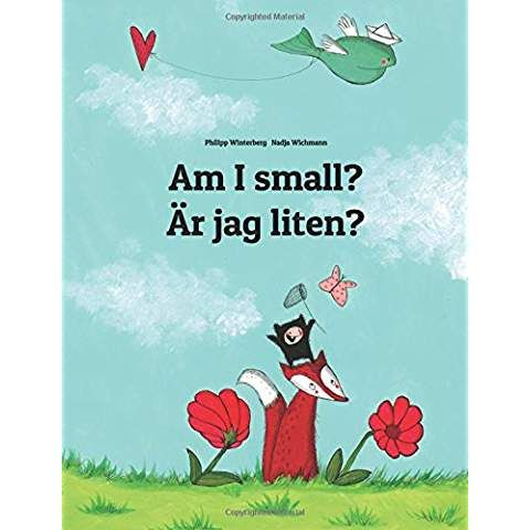 New Am I Small Watashi Chisai Childrens Picture Book English Japanese Bili 1493769715