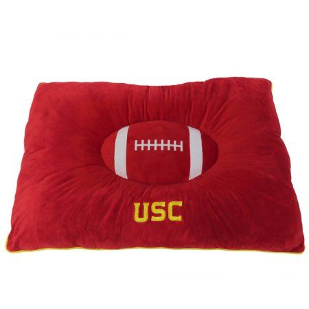 Pets First College USC Trojans Pet Pillow Bed