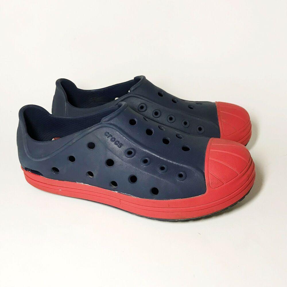Crocs Kids Boys Bump It Shoe Slip On