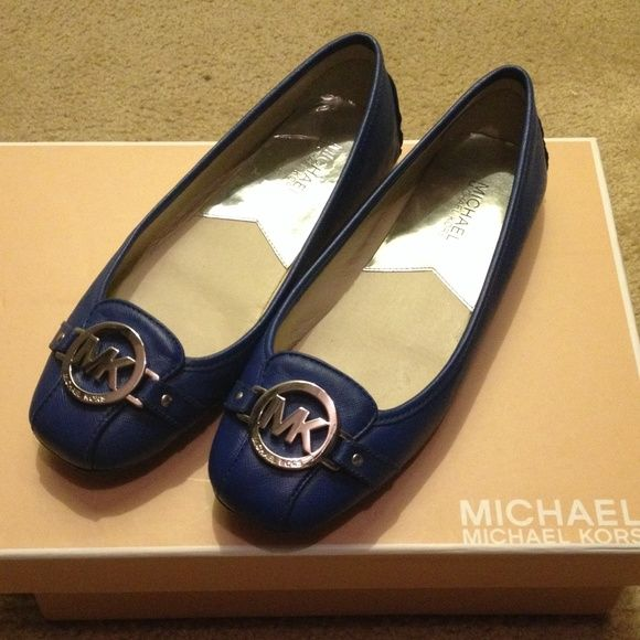 Flats blue michael kors | Michael kors