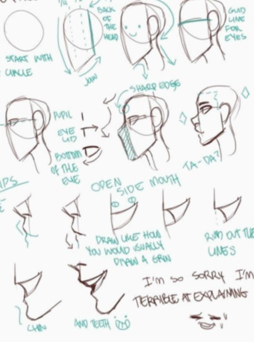 Anime Face Side View Character Design Manga Animecosplay Mangacosplay Drawing Tips Drawing People Drawings