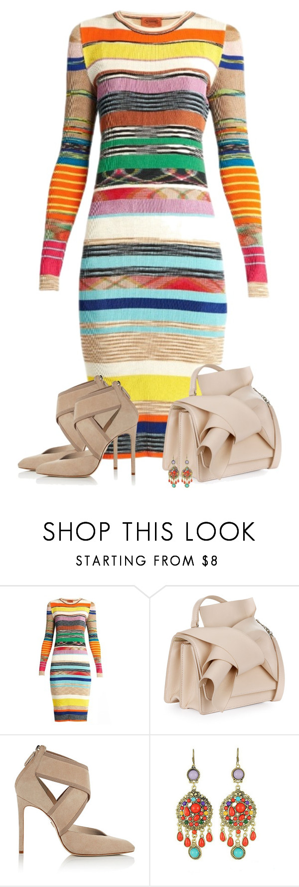"""""""The Featured Item Contest"""" by barbarapoole ❤ liked on Polyvore featuring Missoni, N°21, Lanvin and WithChic"""