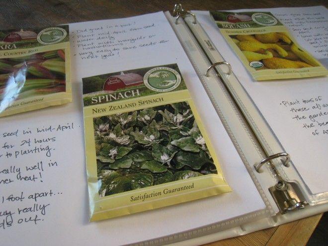 Make your own Gardening Binder from @frugalsustainable
