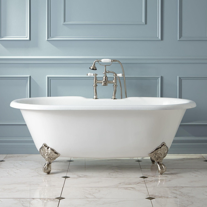Sanford Cast Iron Clawfoot Tub - Imperial Feet   Tubs, Iron and Bath