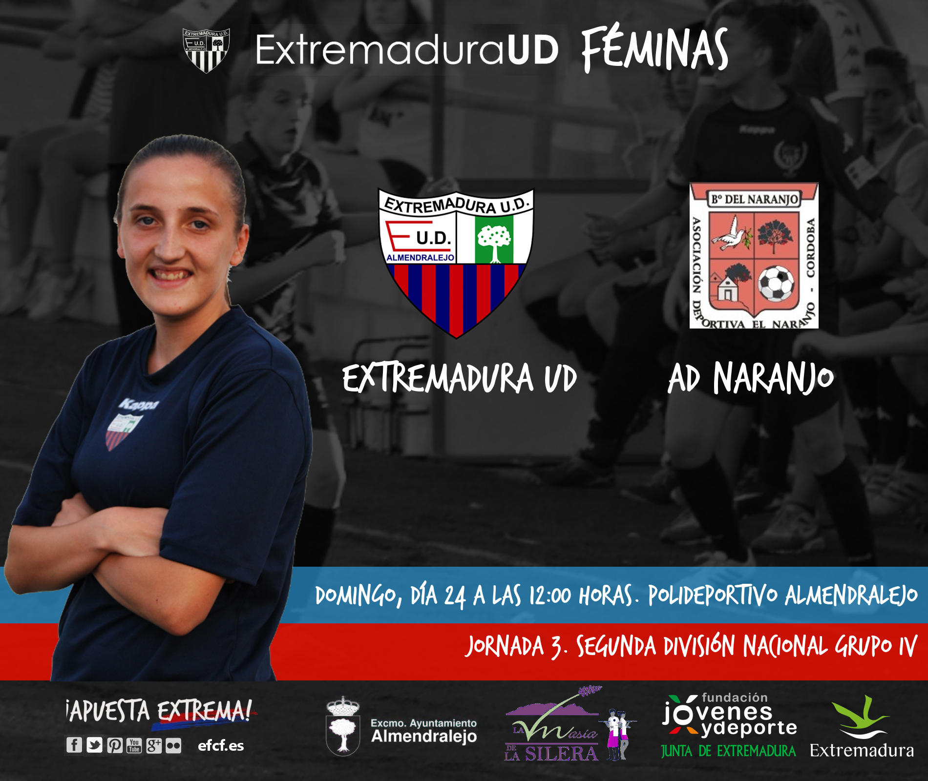 Segunda División Grupo IV | Jornada 3 Extremadura UD v AD Naranjo El ...