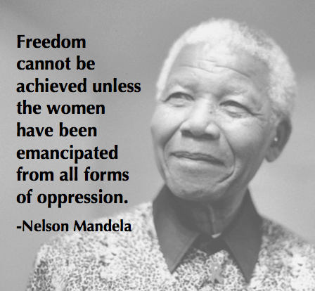 Mandela On The Emancipation Of Women Quotes Inspiration