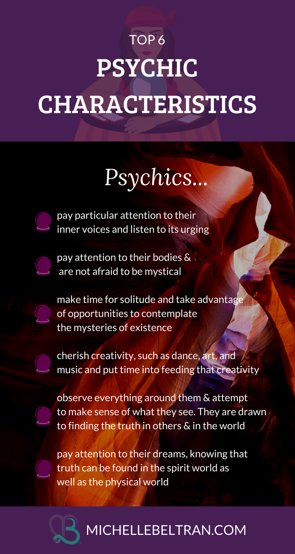 Psychic Medium Reveals Top 6 Successful Characteristics Of Psychics Psychic Abilities Psychic Psychic Intuition