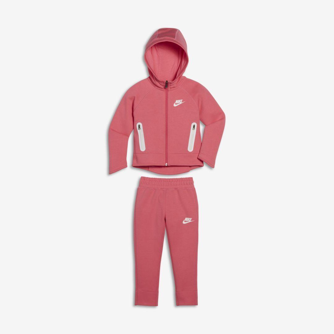 nike tech fleece pants pink