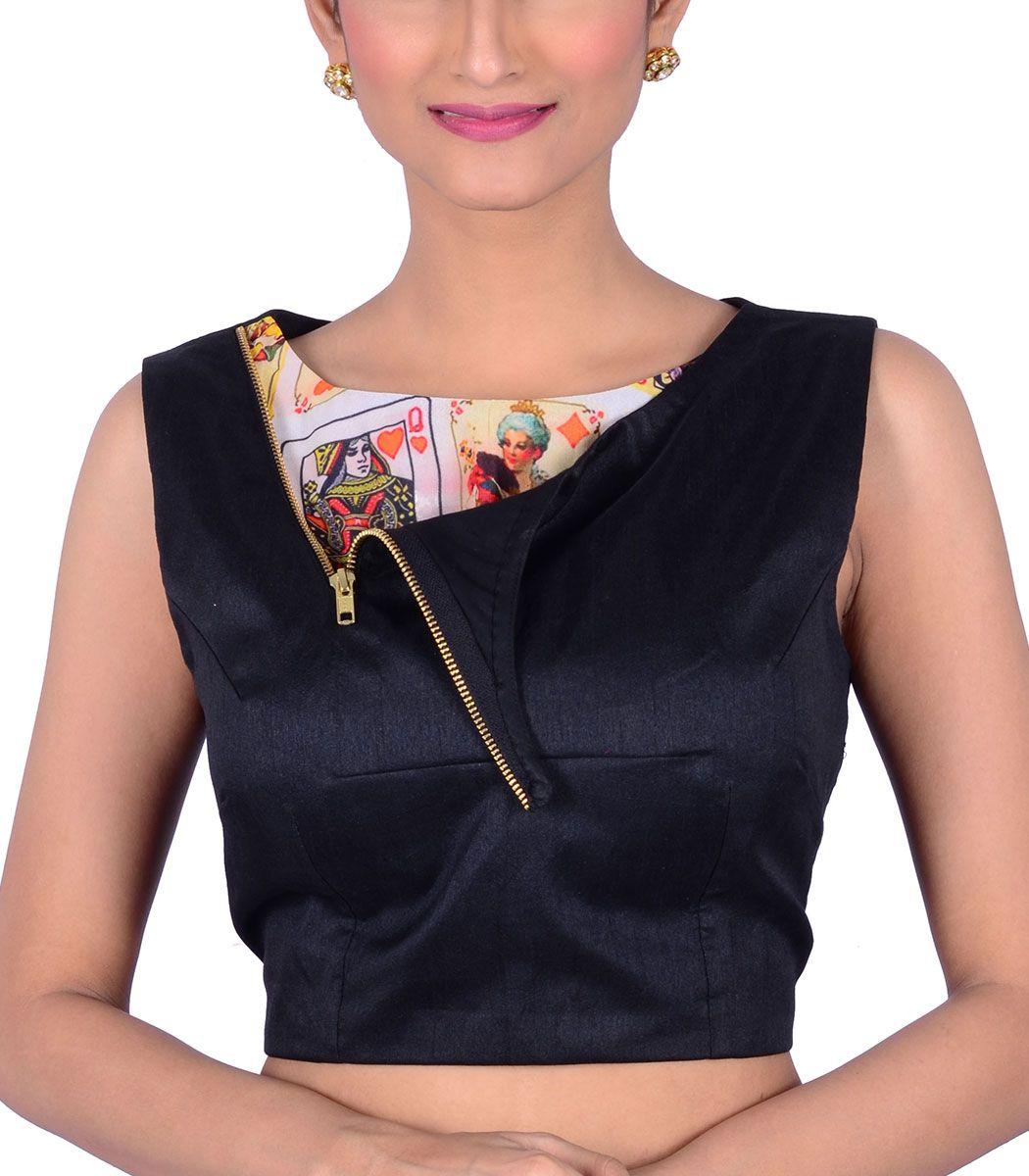 Black dupion designer blouse bl indian silk house agencies also rh pinterest