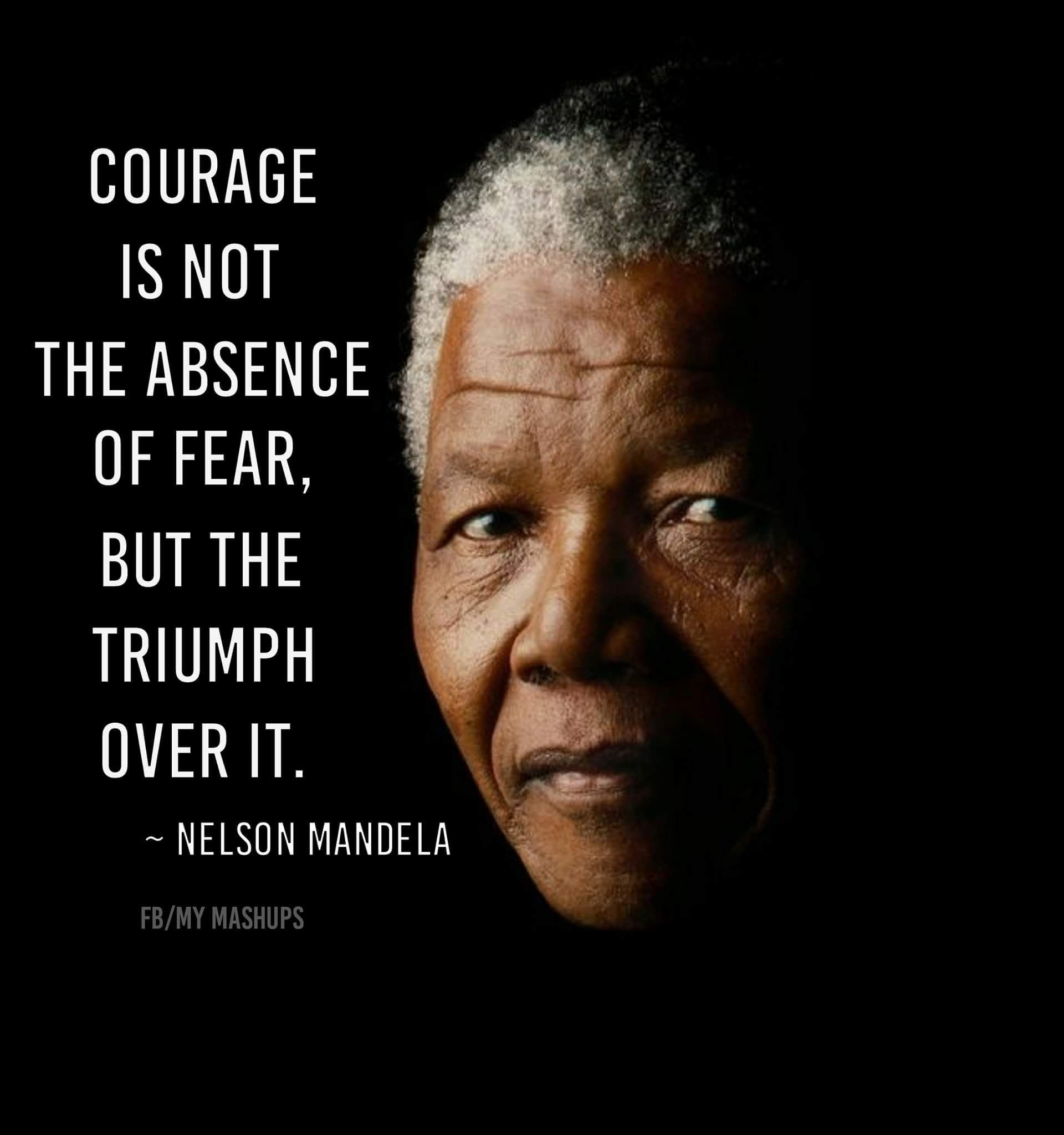 Quote Nelson Mandela Via Facebook Page My Mashups Quote Qotd
