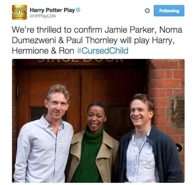 J K Rowling Says She Loves Black Hermione Harry Potter Play Harry Potter Harry