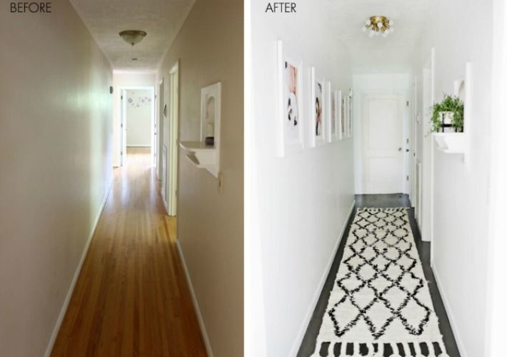Tal y como os contaba en este post de como decorar un - Como decorar un pasillo pequeno ...
