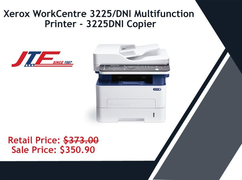 Xerox Workcentre 3225 Dni Multifunction Printer Is A Comprehensive