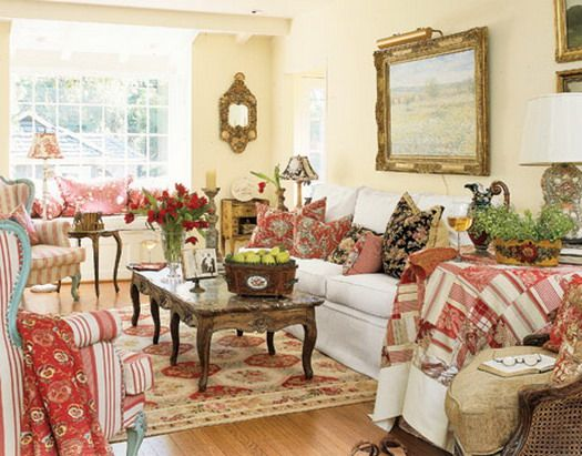 French Country Cottage Style Living Rooms And Please Don T Even
