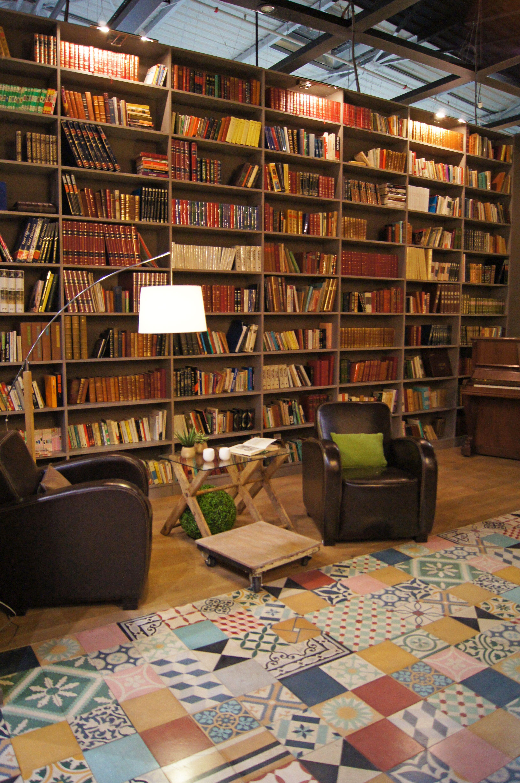 LA BIBLIOTHEQUE - SALON CREATIF   house   Pinterest   Bibliothek