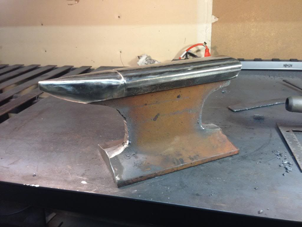 examples of milled railroad rail for anvils - Google Search