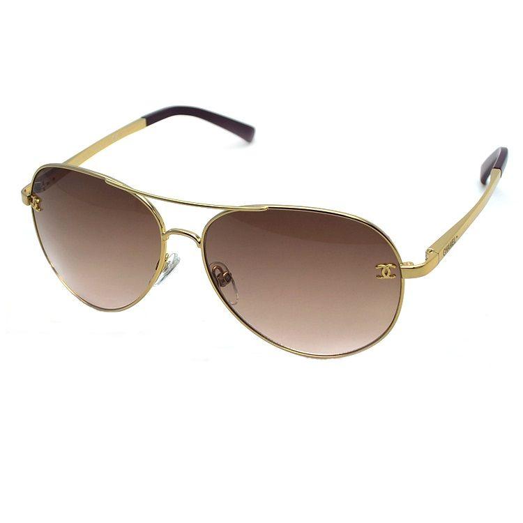 Chanel 4189 - Gold | Who I Am | Pinterest | Ray ban sunglasses ...