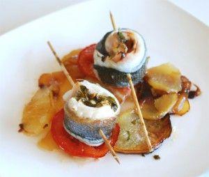 Rollos Essen rollos de lubina al horno gastronomía gastronomy cantabria