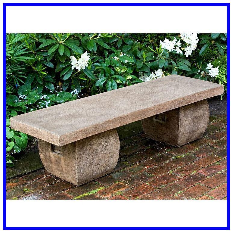 Cast Stone Basalt Lounge Garden Bench Stone Garden Bench