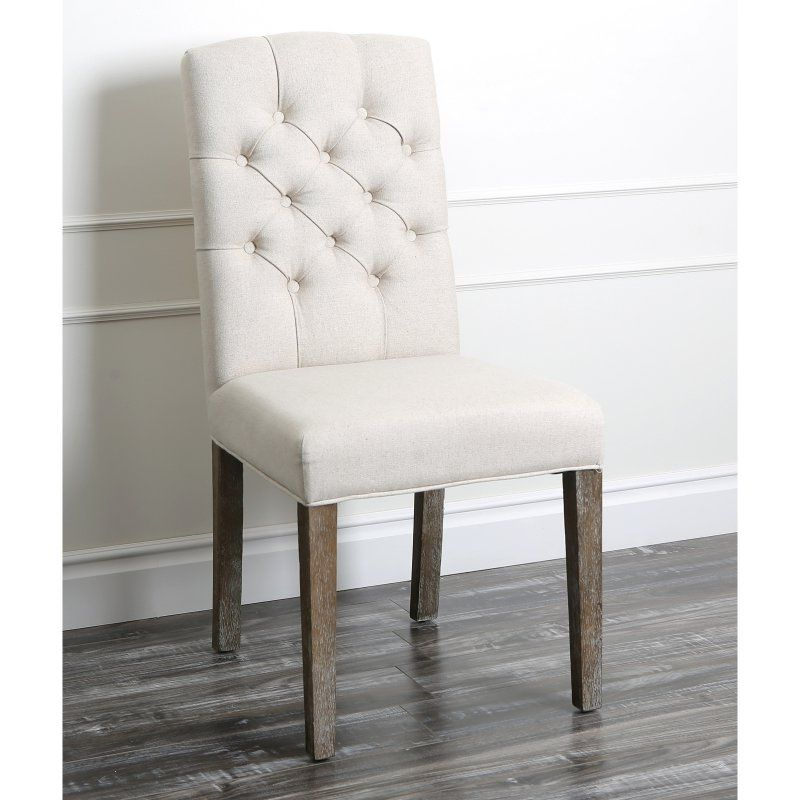 Abbyson Living Larua Linen Tufted Dining Chair | Products ...