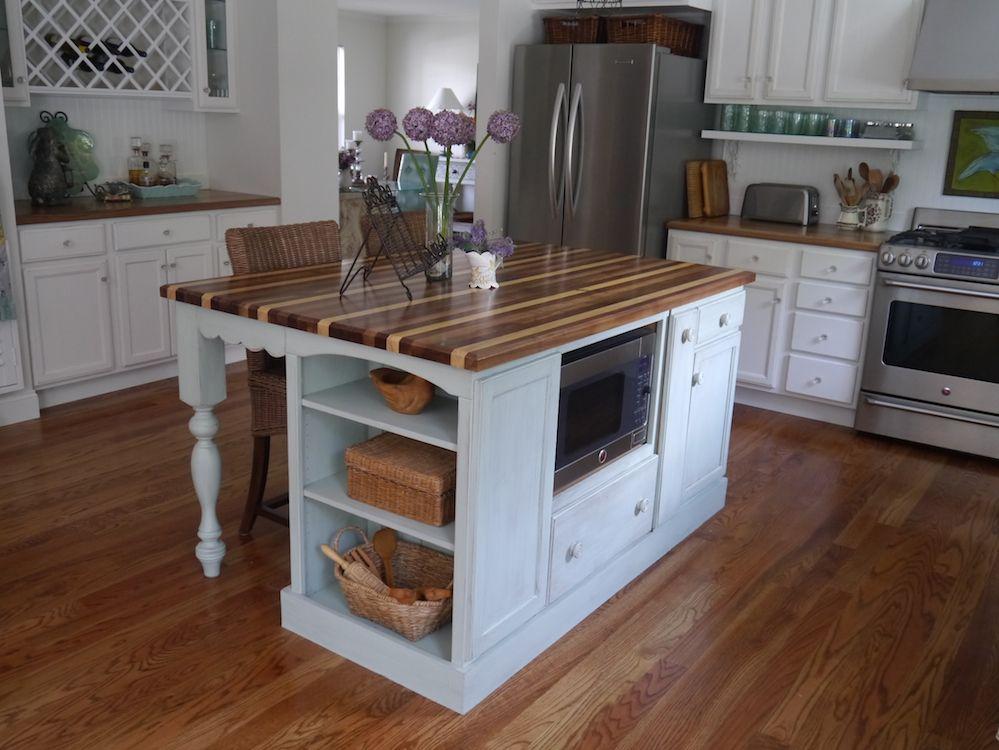 kitchen island Cynthia Cranes Art and Gardening Goodness Part 3