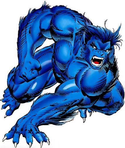Beast Marvel Comics X Men Avengers Defenders Profile Beast Marvel Beast Xmen Marvel Comics