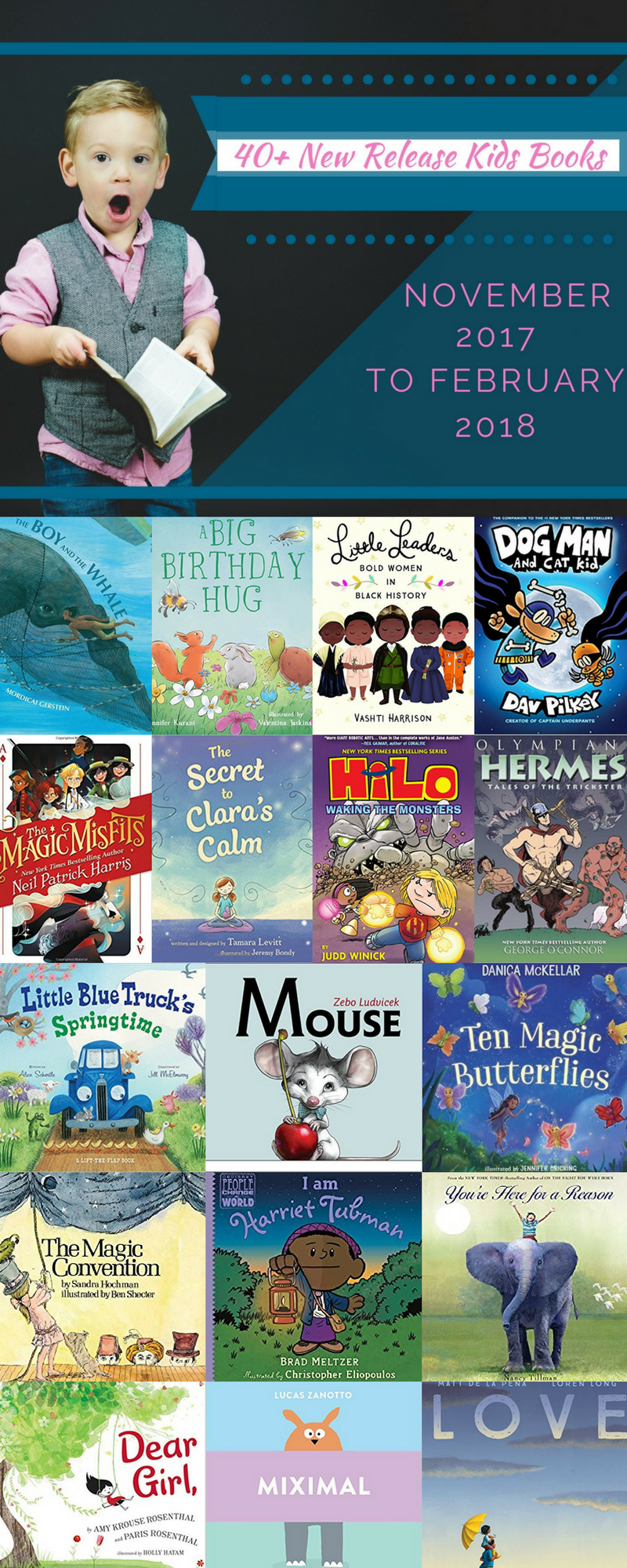 Upcoming Releases for Kids Books in Winter 2017/ 2018