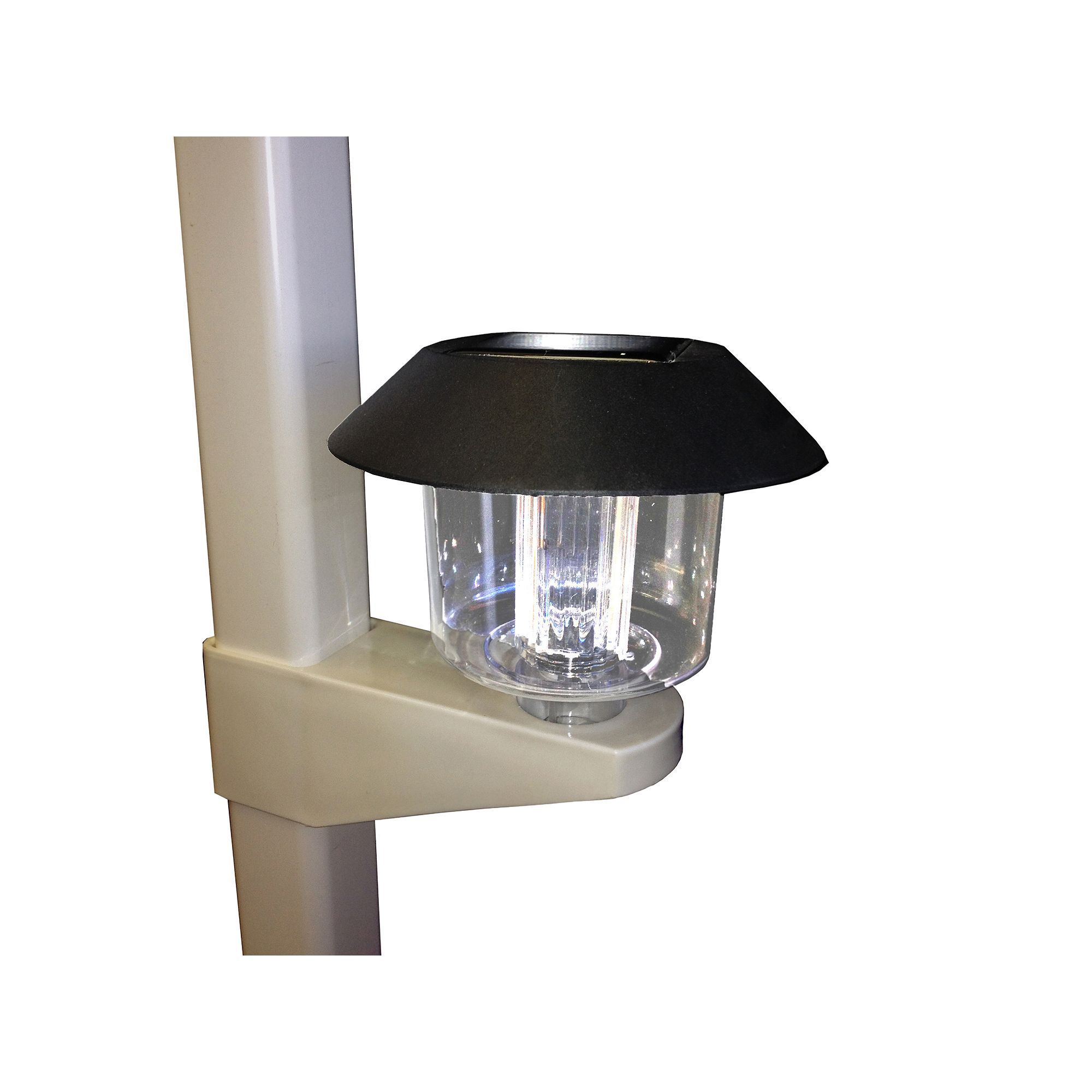 Vinyl Works 4 Pk Above Ground Pool Fence Solar Lights Products