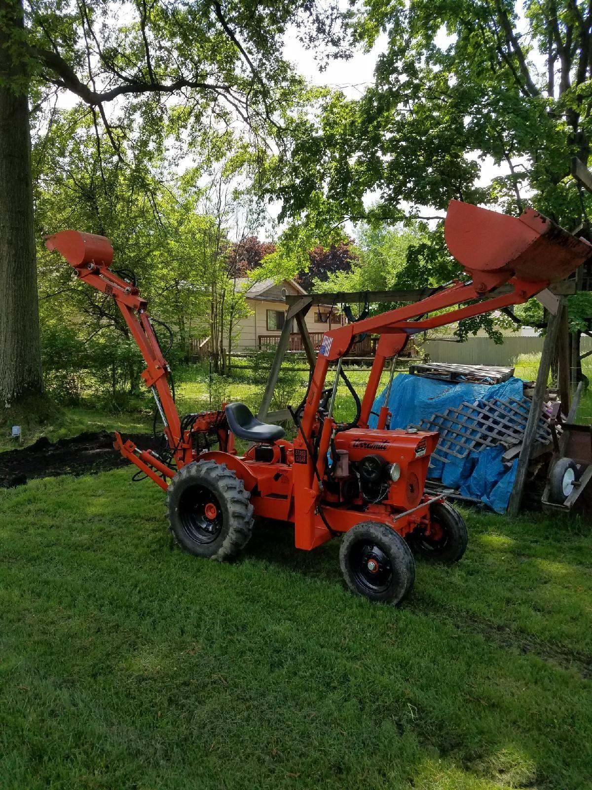1971 terramite economy tractor model 2 garden tractor. Black Bedroom Furniture Sets. Home Design Ideas