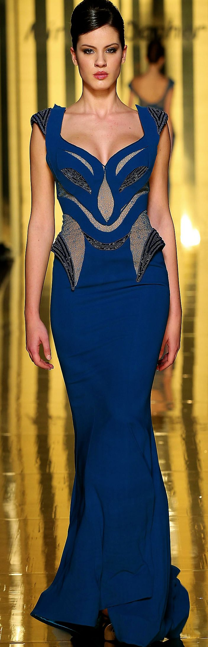 Mireille Dagher Couture SS 2013 DanceSport gown idea