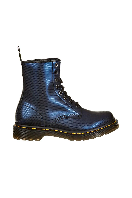 Bottines A Lacets Femme 1460 Dr. Martens Marine Metal   shoes ... 1452db537001