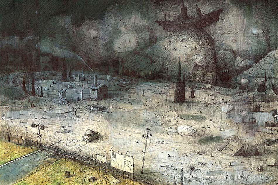 Shaun Tan, Tales From Outer Suburbia